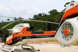 fly helicopter in pattaya
